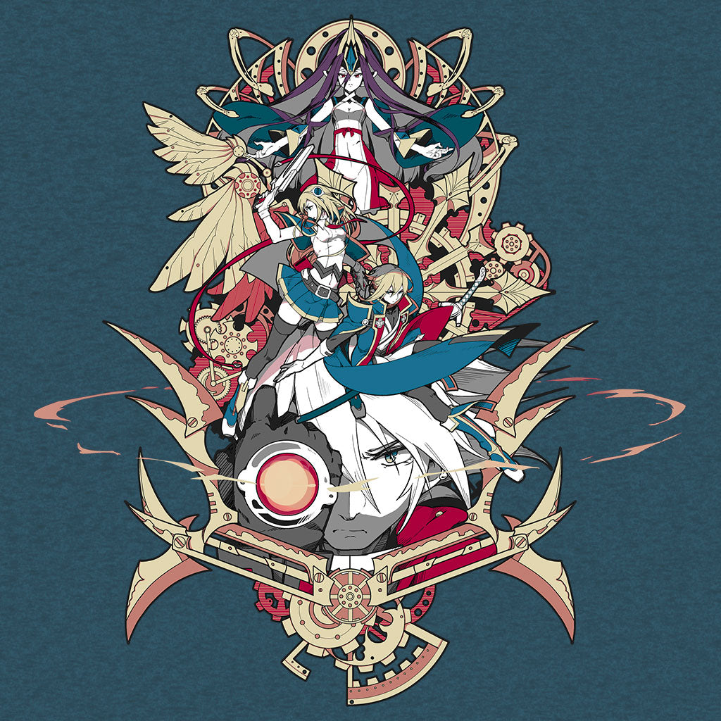 Blazblue Central Fiction t-shirt design by Eighty Sixed