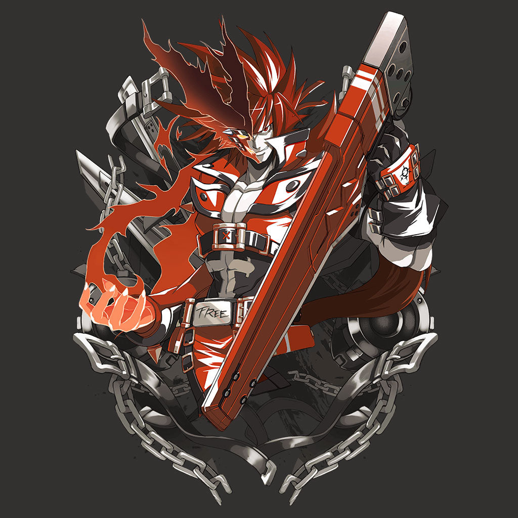 Guilty Gear Sol T-Shirt by Eighty Sixed