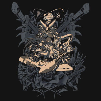 Guilty Gear No Mercy T-Shirt Design