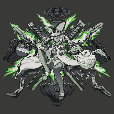 Guilty Gear Ramlethal T-Shirt Design