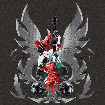 Guilty Gear Red Witch T-shirt Design by Eighty Sixed.