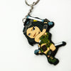 Closeup photo of the Killer Instinct Orchid Keychain