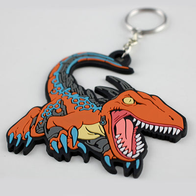 Closeup photo of the Killer Instinct Riptor Keychain