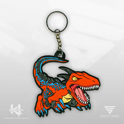 Killer Instinct Riptor Keychain by Eighty Sixed