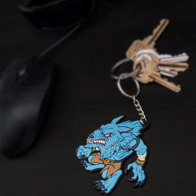 The Killer Instinct Sabrewulf Keychain