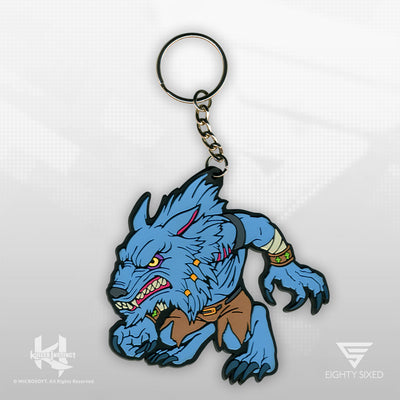 Killer Instinct Sabrewulf Keychain by Eighty Sixed