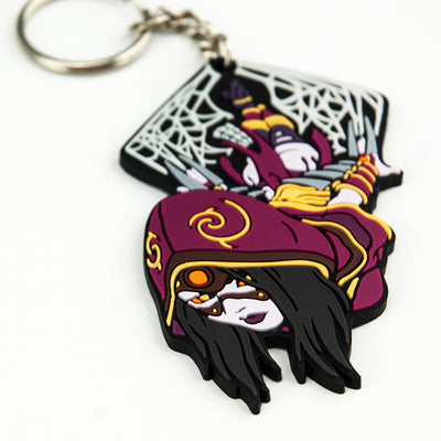 Closeup of the Killer Instinct Sadira Keychain
