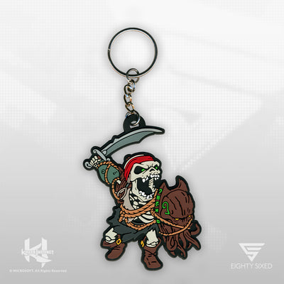 The Killer Instinct Spinal Keychain by Eighty Sixed