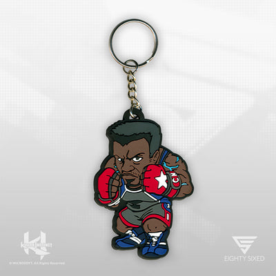 The Killer Instinct TJ Combo Keychain by Eighty Sixed