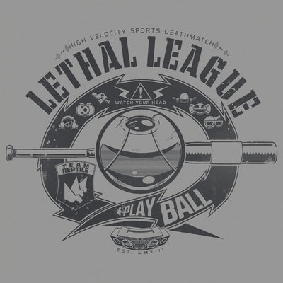 Lethal League T-Shirt by Eighty Sixed