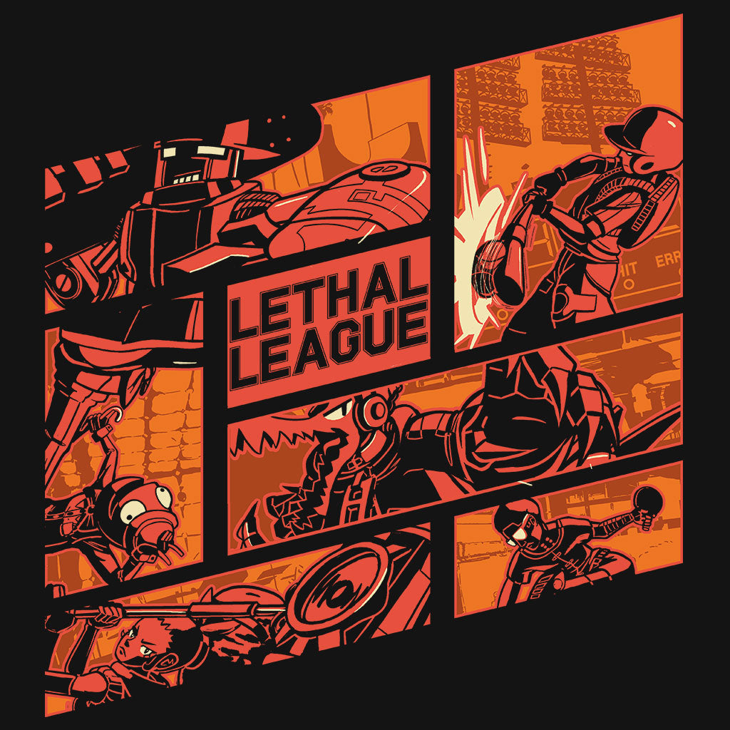 Lethal League Squad Shirt Design by Eighty Sixed.