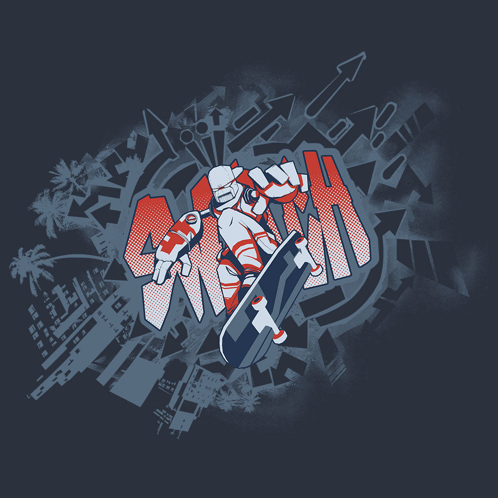 Lethal League Thrash Shirt Design by Eighty Sixed