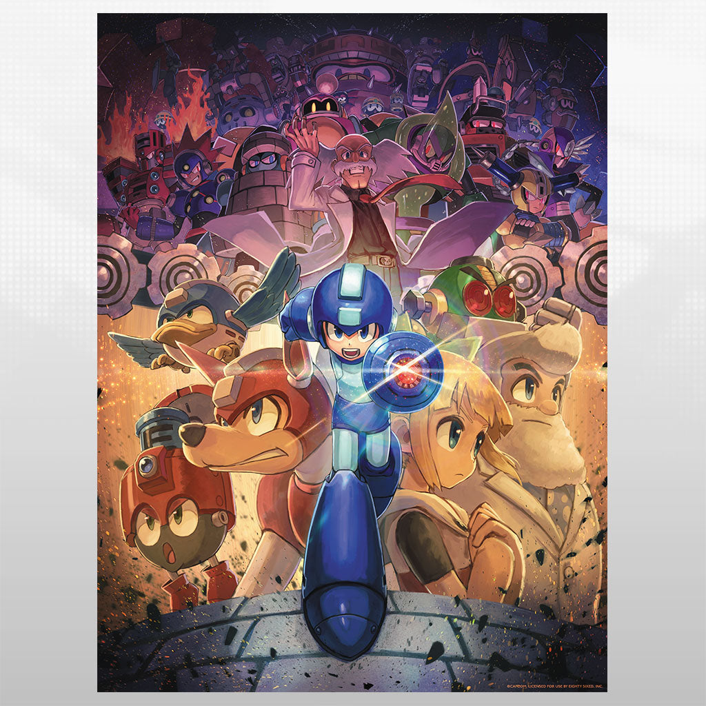 Mega Man 11 - Gears of Fate Poster