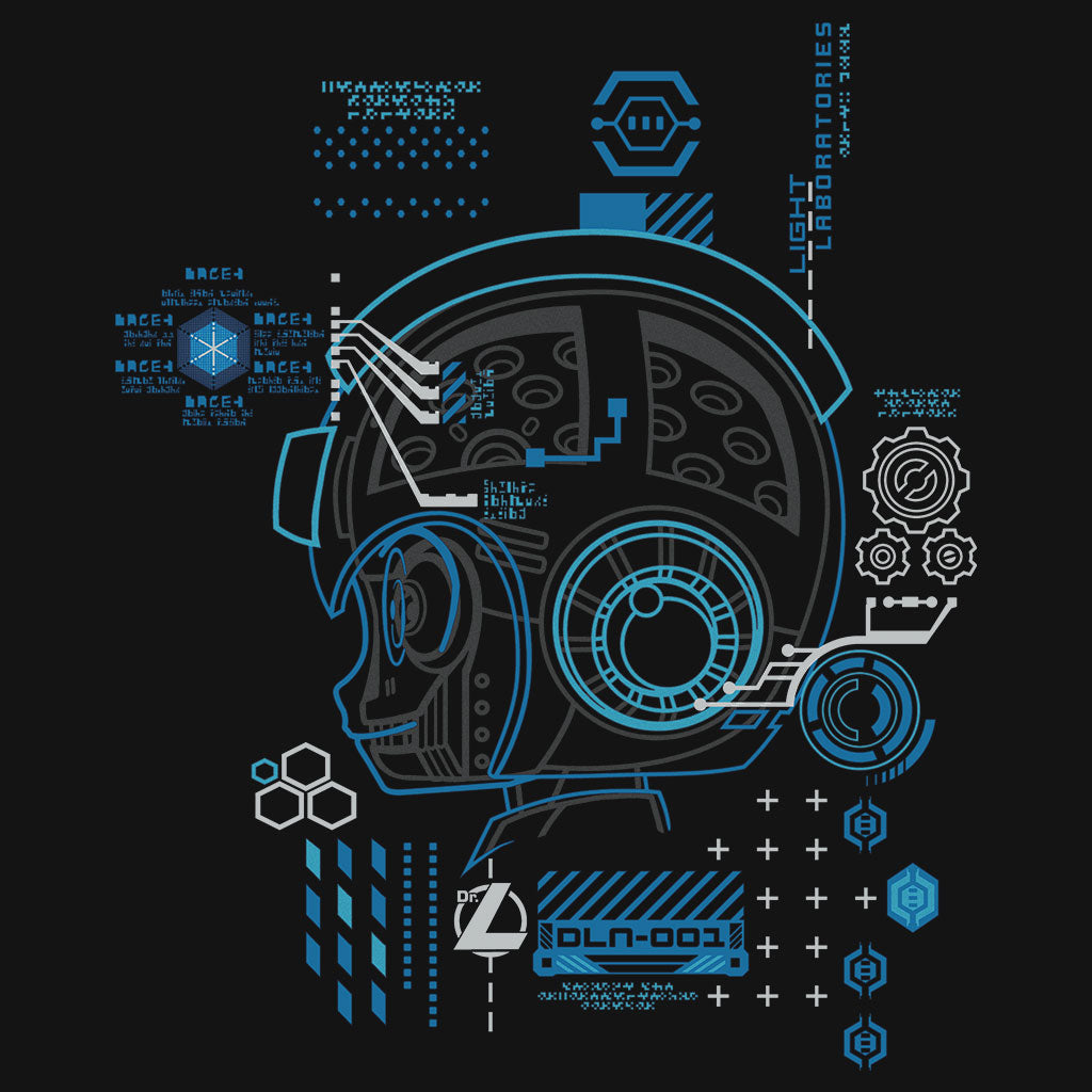 Mega Man 11 Diagnostic T-Shirt Design by Eighty Sixed
