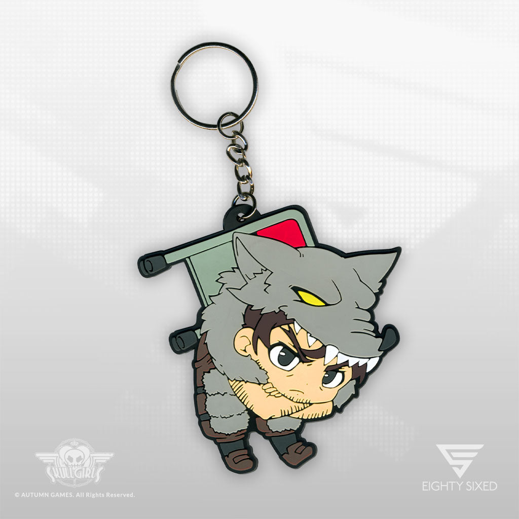 Skullgirls Beowulf Keychain by Eighty Sixed.