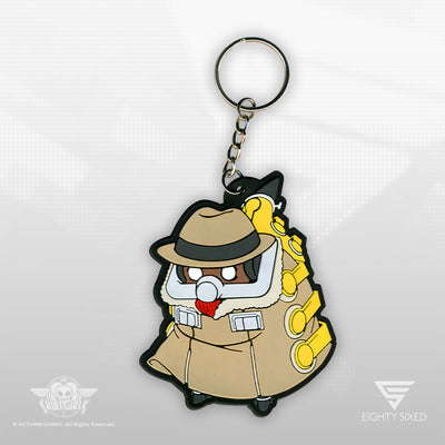 Skullgirls Big Band Keychain by Eighty Sixed