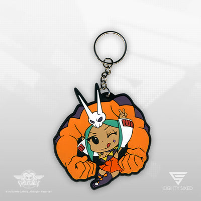 Skullgirls Cerebella Keychain by Eighty Sixed.