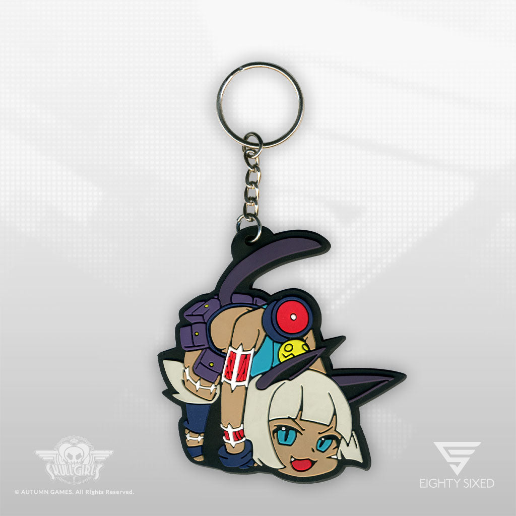 Skullgirls Ms. Fortune Keychain by Eighty Sixed