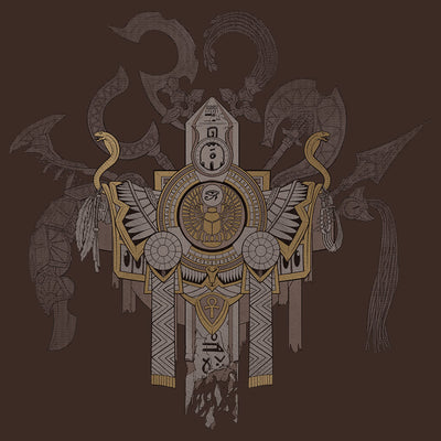 Smite Arms of Egypt Pantheon T-shirt Design