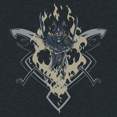 Smite Loki T-Shirt Design by Eighty Sixed