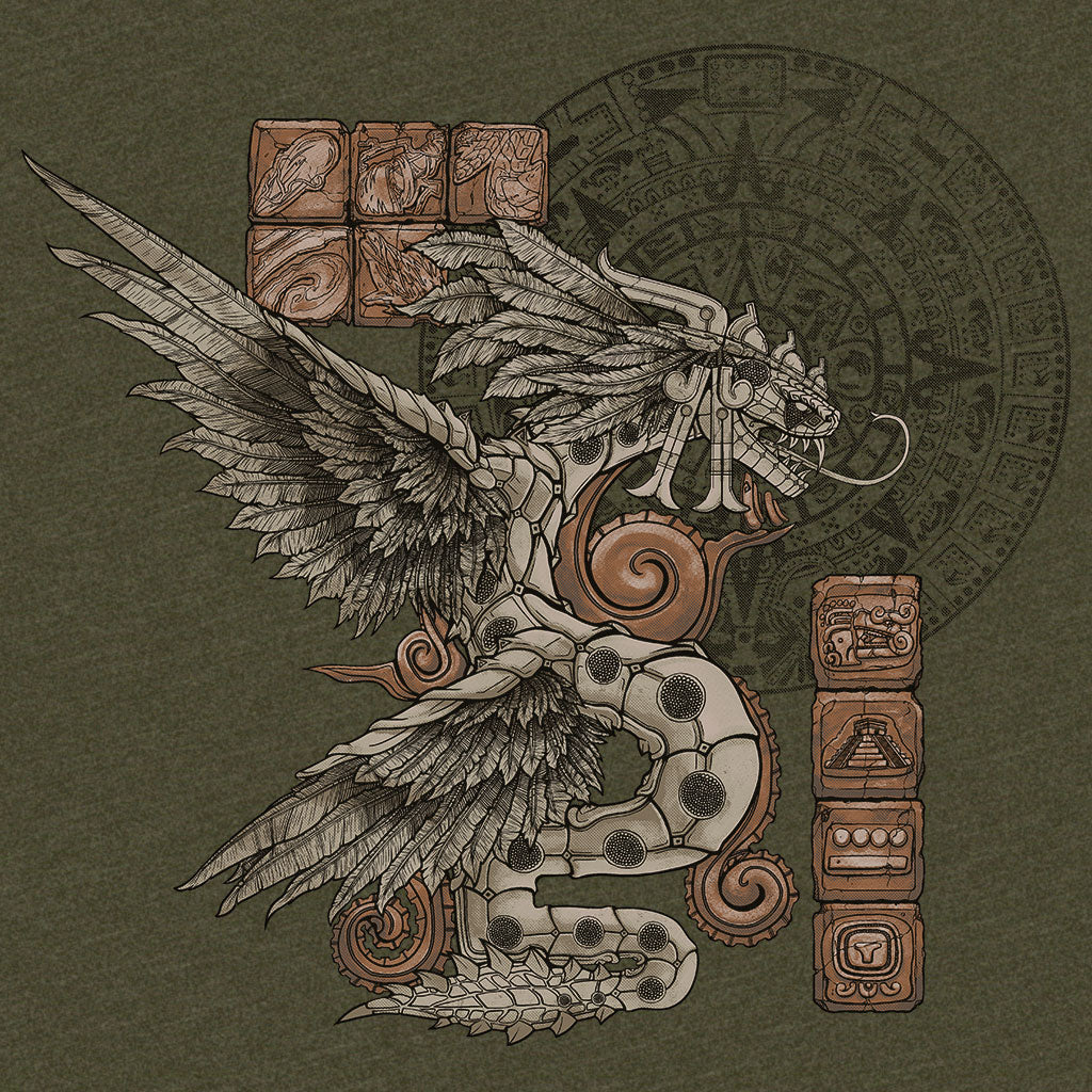 Smite Kukulkan T-Shirt Design by Eighty Sixed