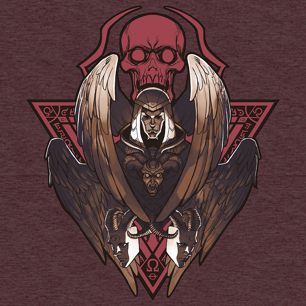 Smite Thanatos T-Shirt Design