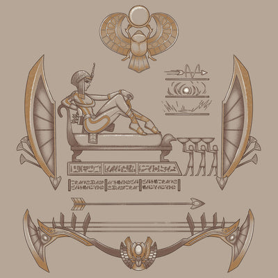 Smite Neith T-Shirt Design