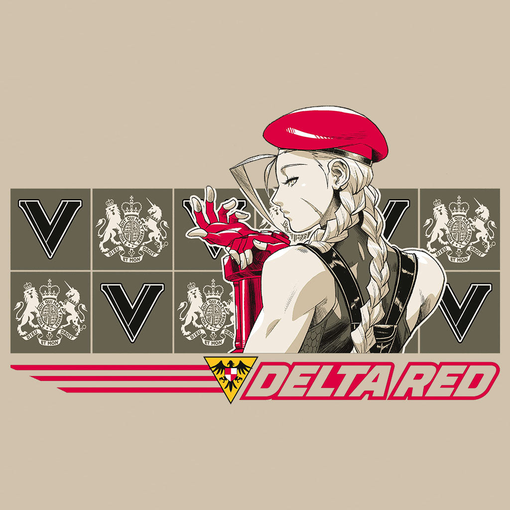 Street Fighter - Delta Red