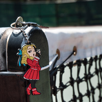 Street Fighter Karin Keychain