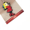 Street Fighter Karin Keychain with packaging