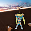 Street Fighter R. Mika Keychain