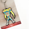 Street Fighter R. Mika keychain with packaging