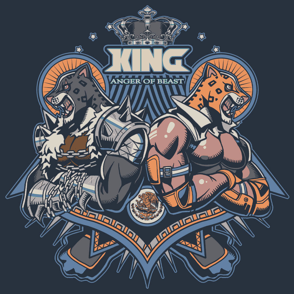 Tekken Two Kings T-Shirt Design by Eighty Sixed