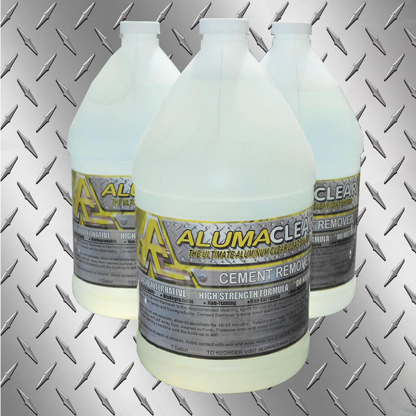 Cement & Lime Remover, 1 gallon, Removes Cement and lime build up from painted and aluminum surfaces