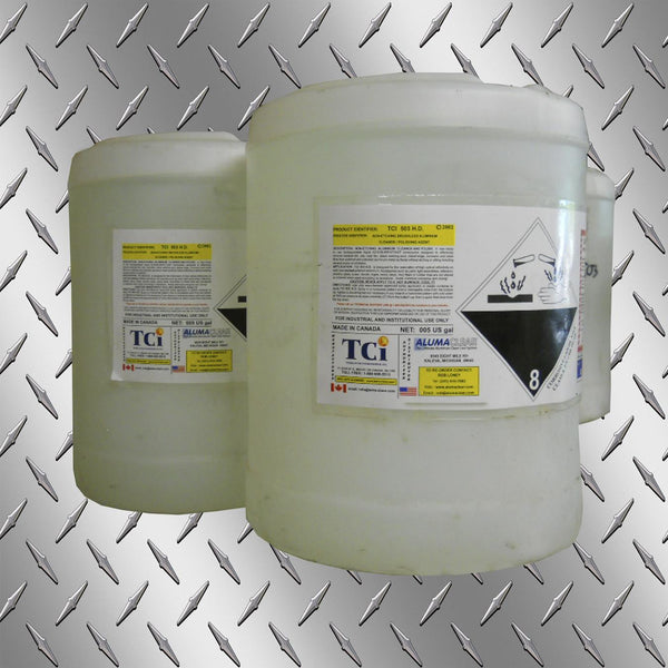 TCI-503 HD Aluminum Cleaner/Polishing Agent Brushless, 5 gallons