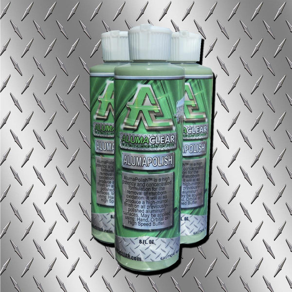 AlumaPolish, 8 oz bottle, Aluminum Polishing, Removes stubborn oxidation and corrosion