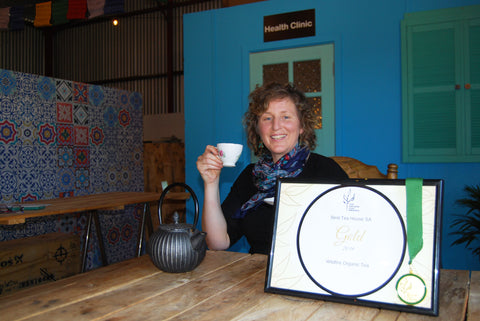 Wildfire named Best Tea House in SA