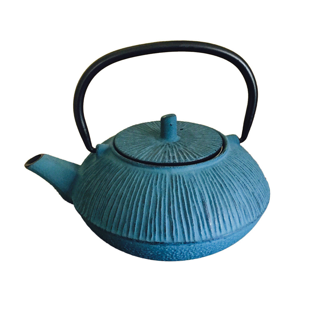Cast Iron Teapot 800ml - Blue