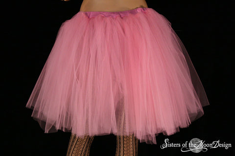 Paris Pink Adult tutu petticoat Romance skirt extra poofy knee length formal bridal wedding prom