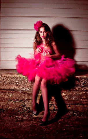 Mega huge Shocking Pink Petticoat tutu skirt hot pink extra poofy Adult hot pink large puff dance costume