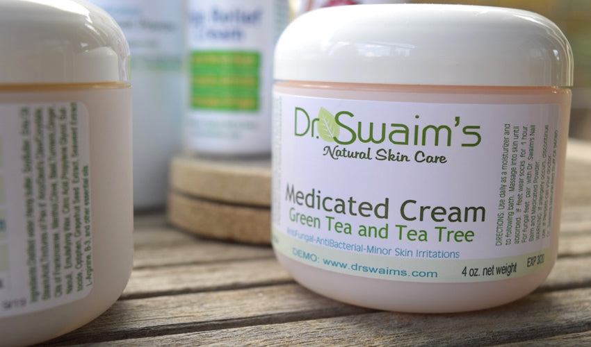 Close-up image of a tub of Dr. Swaim's Medicated Cream