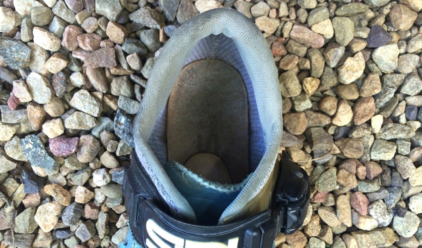 22babae1f96 Many cycling shoe liners have a built-up heel