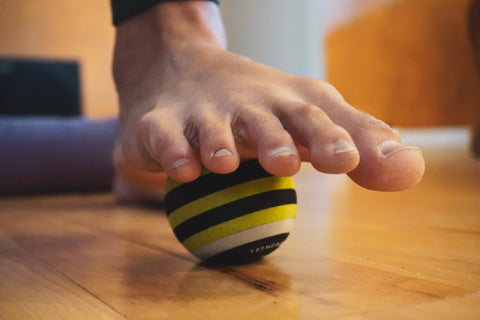 What preventative exercises can strengthen intrinsic foot muscles?