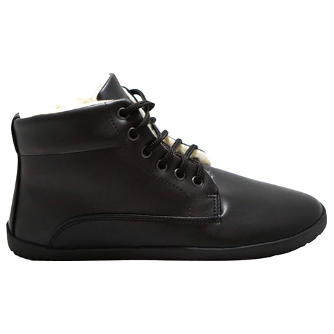 Ahinsa Winter Ankle Bare Black