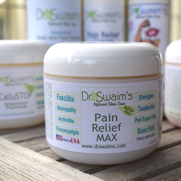 Dr  Swaim's Pain Relief Max Cream 4 oz  Tub