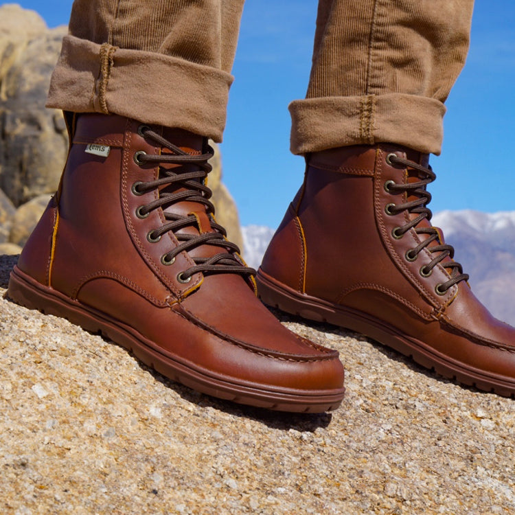 Lems Boulder Boot Leather Russet