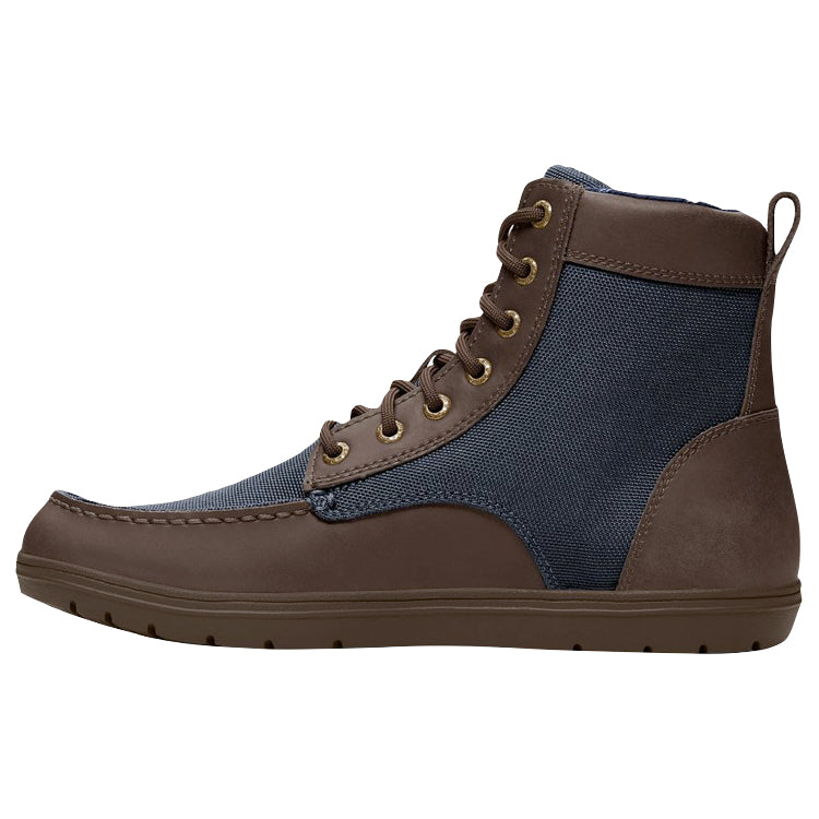 Lems Boulder Boot Nylon Navy Stout (Men's)