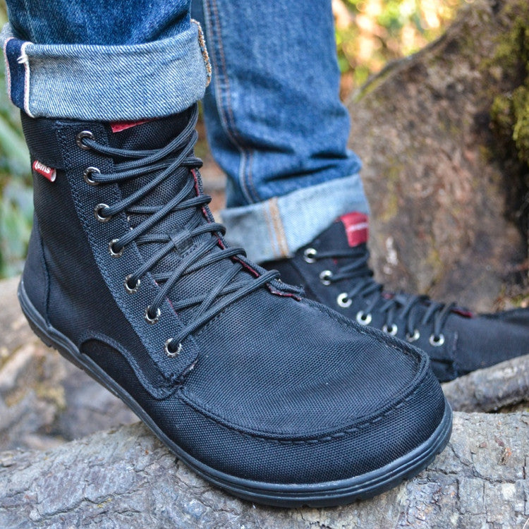 Lems Boulder Boot Black