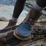 Lems Boulder Boot Navy Stout (Women's)
