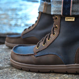 Lems Boulder Boot Navy Stout